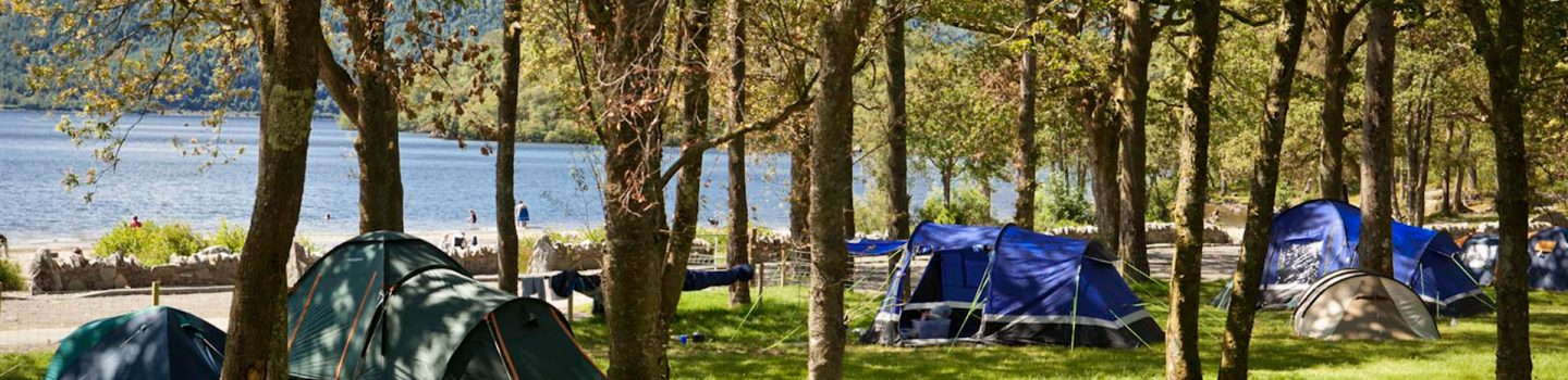 Find a campsite | Camping - Loch Lomond & The Trossachs