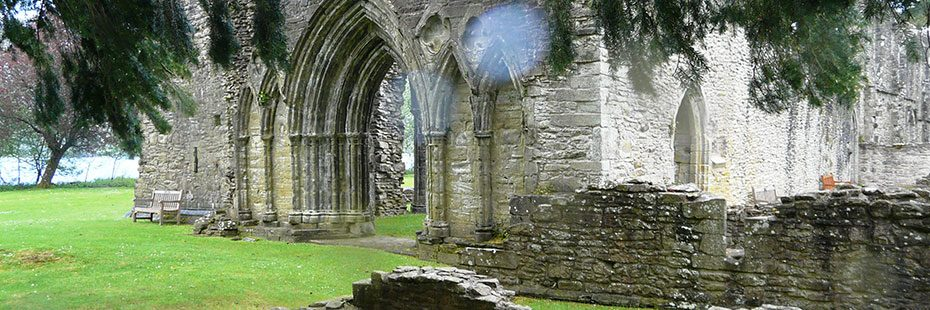 inchmahome-priory-on-inchmahome-island-beyond-trees-with-gothic-arched-entrance-very-prominent