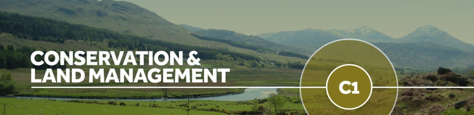 conservation-and-land-management-banner-with-mountain-panoramic-background