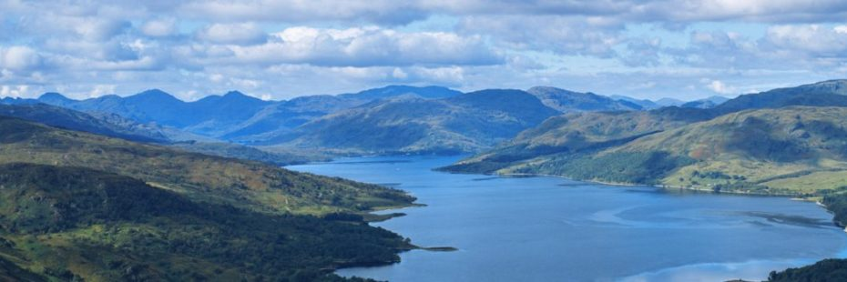 aerial-view-of-loch-clouds-and-mountains