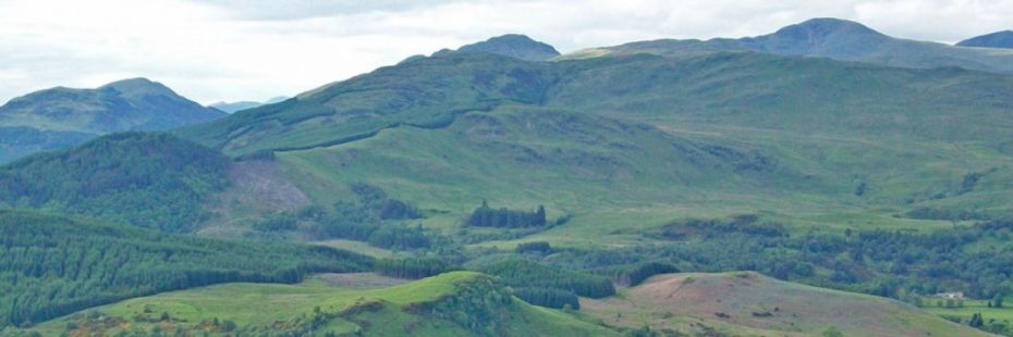 panorama-of-hills-and-glen-from-ben-gullipen