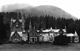 Undated photograph of Benmore House, Argyll (Newsquest / SCRAN)