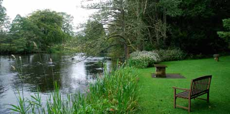 bench-on-bank-of-river-teith